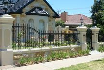Fencing / front gate and fence