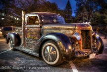 Rat Rod Revolution / Rat rods and rusted steel / by Kristen Noodle