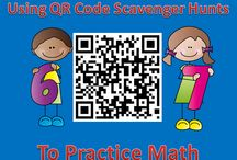 QR Codes in the Classroom / Kind of intrigued by the idea of QR Codes! Different ways to use them in the classroom!