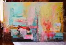 Painting Process / From the Studio. Painting process.