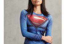 Women's Superhero Shirts