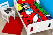 Marvel Superheroes Bedding & More