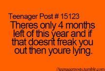 Teenage years  / by Briana Wulfeck