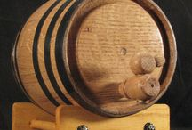Whiskey Barrels | Oak Barrels / Showcase of our stock oak barrels with no custom engraving.  Mini Oak Barrels used for decoration or for aging your own spirits.   These barrels make great gifts for anyone.