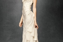 Wedding dresses, vails, shoes, primping