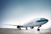 Our fleet / Showcase of Cathay Pacific fleet.  Find out more info about each aircraft at http://bit.ly/ourfleet / by Cathay Pacific Airways