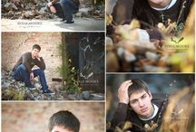 Photos of young men