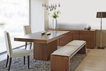 Dining Room Ideas / Dining rooms are where we really show our style and taste. Its where you reveal you're really a classical traditionalist, or a contemporary stylist. Check the pins on this board and see what you like best  http://www.inspiredhomeideas.com/category/dining-rooms/