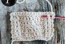 Crochet special stiches