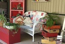 Front porch/back porch ideas