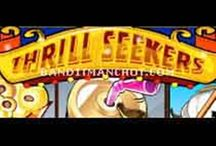 #Play #Thrill #Seekers #Slot #Game and #Enter the #Amusement #Park / Get into the heart of amusement park by playing Thrill Seekers slot game which is full of fun. It is based on fascinating thrill rides, fun fair food, and exciting roller coaster rides. This game has 50 paylines and 5 reels to play with. It has very engaging graphics and sound effects.