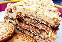 bolos e tartes