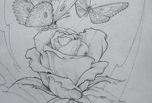 desene flori
