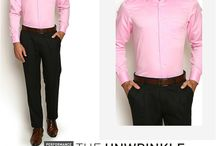 Unwrinkle Collection / The all the wrinkle resistant collection from Blackberrys