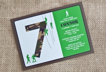 Connor turns 5 / by Christy Wilkinson