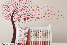 Nursery decals / These wall decals are perfect for your baby's rooms