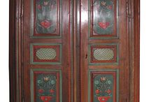 armoires polychromes
