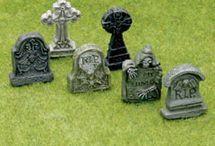 miniature haunted house