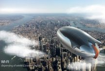 [MAFORM] S.H.A.R.K. Airship Shuttle Concept / Industrial design by Maform S.H.A.R.K. project is a new approach on climate change research, developed by a Hungarian startup company. Basically this is a mixture of a drone and an airship and it replaces the use of costly aircrafts and uncontrollable meteorological balloons, flying in high altitudes. S.H.A.R.K. can carry a payload of 30 kg in an altitude of 22 km, for at least 168 hours in a 5 km radius, collecting data.