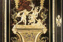 Незаменимые IX- André Charles Boulle / Любой почитатель красивой мебели ценит ее вне зависимости от силя. Даже если ее стиль не совсем тот, который мы бы выбрали для своего дома, красоту самой вещи надо уметь оценить, как произведение искусства, как, к примеру, известную картину.