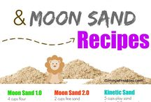 Kinetic Sand and Moon Sand
