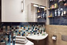 Bathrooms / Ванные комнаты/