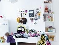 Børneværelse / Inspiration til indretning af børneværelse. Kids room inspiration
