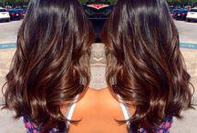 • Cheveux longs •