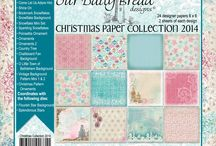 ODBD Christmas Paper Collection 2014 / https://www.ourdailybreaddesigns.com/index.php/christmas-collection-2014-6x6-paper-pad.html