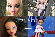 Doll makeovers