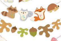 woodland animals party