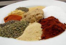 chicken rub / spices