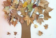 manualidad de otoño