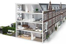 Interieurontwerp Van der Weerdt / Moodboards voor interieurontwerp Palestinastraat 133