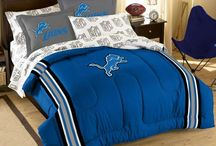 Detroit Lions Room & (wo)Man Caves / Detroit Lions Room, Bedrooms & (wo)Man Caves - Pictures, Ideas, & Fun Products / Merchandise