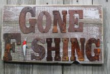 Fishing Decor ><'> / I love to fish. Need I say more... :) / by Earth Angel
