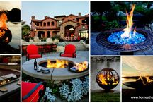 DIY Fire Pit Ideas |Homesthetics / by Homesthetics.net
