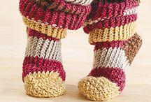 calcetines a crochet