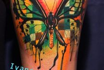 Butterfly tattoos / My favourite butterfly tattoos.