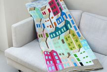 Quilts with houses / by Lady Quilter