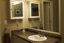 renovate bathroom ideas / by Paula Barth