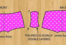 Sewing patterns etc