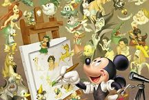 Pictures / Walt Disney Painting/Drawings