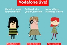 Vodafone Live! / Celebrating 10 years of the Vodafone Live! platform. Ads and other promotional material for Vodafone Live! from all over the world