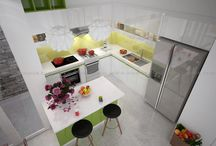 Công trình bếp nhà chị Uyên, Tân Bình / Vinmus thiết kế và thi công bếp nhà chị Uyên , Quận Tân Bình