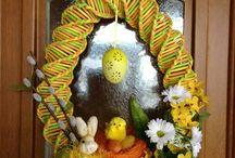 Pasqua - cannucce di carta
