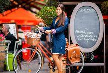 Vintage Bringa- Kasza Krisztina / vintage bicycle- Budapest