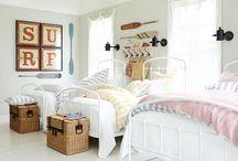 girls' bedroom / by Kristen Peitzsch Lenca