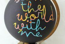 Inspiring world globes