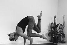 yoga - crow